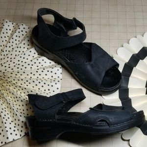 Dansko Clog Sandals size 41 Black